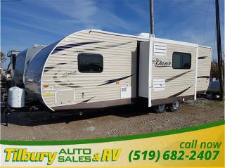 New 2017 Forest River SHASTA OASIS 25RS TRAVEL-TRAILER for sale in Tilbury, ON