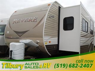 New 2017 Forest River SHASTA REVERE 32 FE TRAVEL-TRAILER for sale in Tilbury, ON
