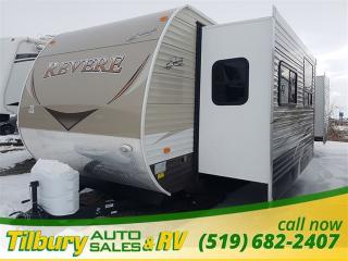New 2017 Forest River SHASTA REVERE 32FE with Fireplace TRAVEL-TRAILER for sale in Tilbury, ON