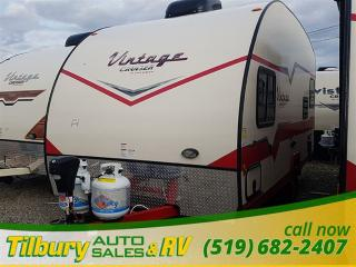 New 2017 Gulf Stream VINTAGE CRUISER 17RWD TRAVEL-TRAILER for sale in Tilbury, ON