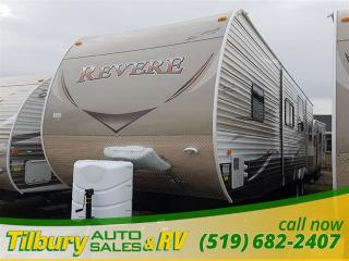 New 2017 Forest River SHASTA REVERE 33BH TRAVEL-TRAILER for sale in Tilbury, ON