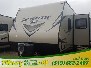 New 2017 Gulf Stream GULF BREEZE SHOOTER 24RBS TRAVEL-TRAILER for sale in Tilbury, ON