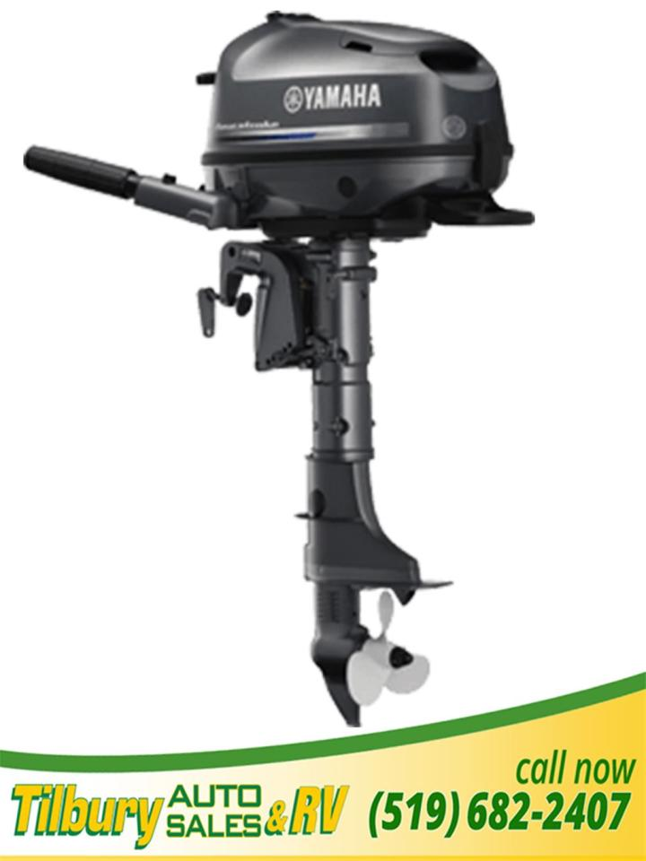 New 2018 yamaha f4 lightweight portable outboard for for Outboard motor fuel consumption calculator