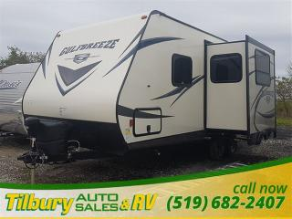 New 2018 Gulf Breeze GULF STREAM 24RBS **WEEKLY PAYMENTS AS LOW AS $52** for sale in Tilbury, ON