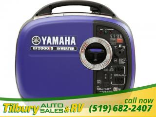New 2018 Yamaha EF2000iS INVERTER SERIES GENERATOR for sale in Tilbury, ON