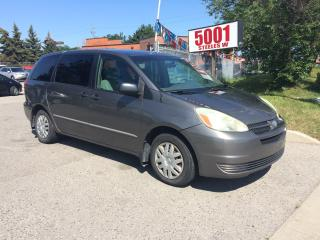 Used 2004 Toyota Sienna NICE DRIVE,SAFETY+3YEARS WARRANTY INCLUDED for sale in North York, ON