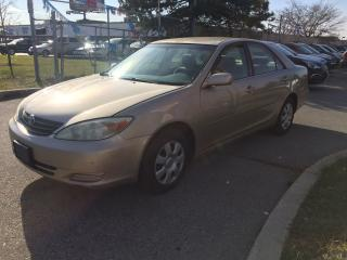 Used 2003 Toyota Camry LE,AUTO,4CYL,SAFET+3YEARS WARRANTY INCLUDED for sale in North York, ON