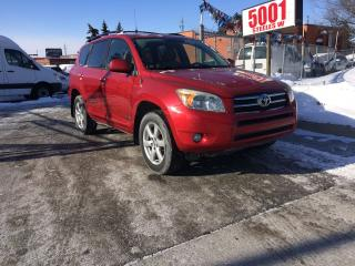Used 2006 Toyota RAV4 LTD,AWD,4CYL,SAFETY+3YEARS WARRANTY INCLUDED for sale in North York, ON