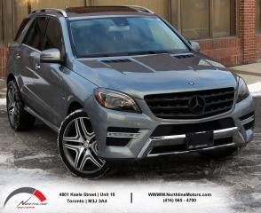 Used 2012 Mercedes-Benz ML 350 ML 350 BlueTEC | Navigation | Sunroof | Backup Cam for sale in North York, ON