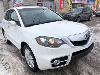 Used 2011 Acura RDX Tech Pkg_NAVI_Backup Camera_Leather_Sunroof for sale in Oakville, ON