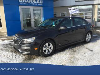 Used 2015 Chevrolet Cruze RS for sale in Sainte-anne-de-beaupre, QC
