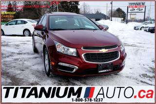 Used 2016 Chevrolet Cruze LT-2+Camera+Push Start+Heated Leather Seat+Sunroof for sale in London, ON