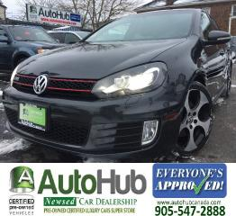 Used 2011 Volkswagen GTI 4 DOOR-AUTOMATIC-SUN ROOF-HEATED SEATS for sale in Hamilton, ON
