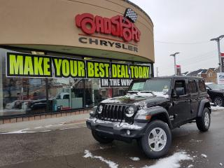 Used 2018 Jeep Wrangler Sport 4 DOOR LEASE ME 199.99 b/w 60 MONTHS +  HST for sale in Scarborough, ON