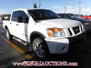 Used 2008 Nissan Titan Pro-4X Crew Cab 4WD for sale in Calgary, AB