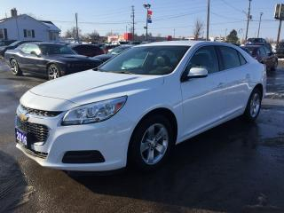 Used 2016 Chevrolet MALIBU LIMITED LT * LEATHER/CLOTH * BLUETOOTH * SAT RADIO SYSTEM * LOW KM for sale in London, ON