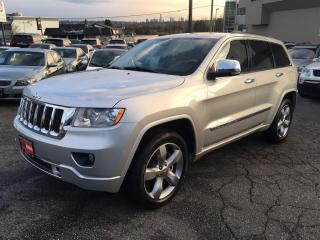 Used 2011 Jeep Grand Cherokee Overland Coquitlam Location - 604-298-6161 for sale in Langley, BC