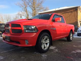Used 2013 Dodge Ram 1500 Sport**AIR SUSP**NAV**ROOF**SPORT HOOD** for sale in Mississauga, ON