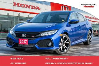 Used 2017 Honda Civic Si | Manual for sale in Whitby, ON