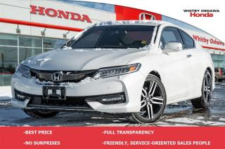 Used 2017 Honda Accord Touring V6 for sale in Whitby, ON