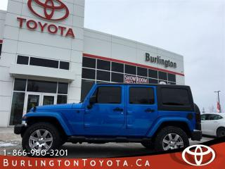 Used 2014 Jeep Wrangler Unlimited SAHARA TRAIL for sale in Burlington, ON