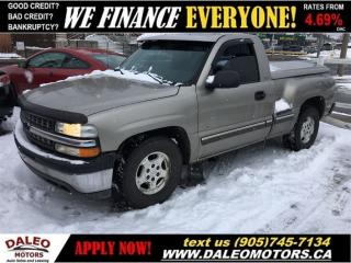 Used 2001 Chevrolet Silverado 1500   147KMS   TEST DRIVE TODAY! for sale in Hamilton, ON