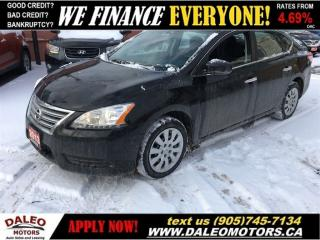 Used 2013 Nissan Sentra 1.8 S  BLUETOOTH  VOICE COMMAND for sale in Hamilton, ON