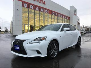 Used 2014 Lexus IS 250 F SPORT PACKAGE AWD for sale in Pickering, ON