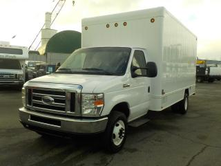 Used 2013 Ford Econoline E-450 15 Foot Cube Van with Rear shelving for sale in Burnaby, BC