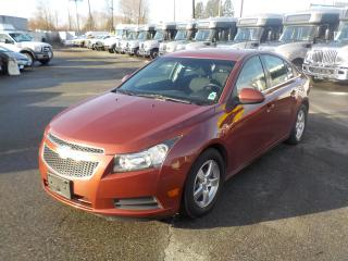 Used 2012 Chevrolet Cruze LT Turbo for sale in Burnaby, BC