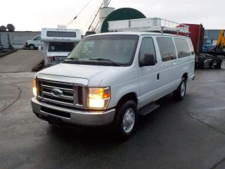 Used 2008 Ford Econoline E-350 Extended 15 Passenger Van with Roof Rack for sale in Burnaby, BC