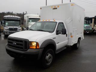 Used 2005 Ford F-450 SD Regular Cab 2WD Cube Van with Workshop Diesel for sale in Burnaby, BC