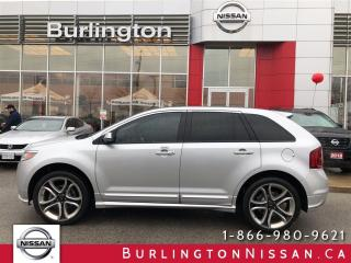 Used 2014 Ford Edge Sport, ACCIDENT FREE, NAVi, 1 OWNER ! for sale in Burlington, ON