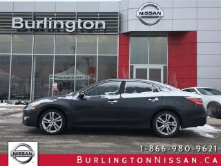 Used 2013 Nissan Altima 3.5 SL, NAVi, ACCIDENT FREE ! for sale in Burlington, ON