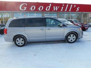 Used 2014 Dodge Grand Caravan CREW! REAR HEAT AND AIR! for sale in Aylmer, ON