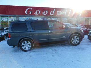Used 2008 Nissan Armada LE! CLEAN CARPROOF! HEATED LEATHER SEATS! for sale in Aylmer, ON