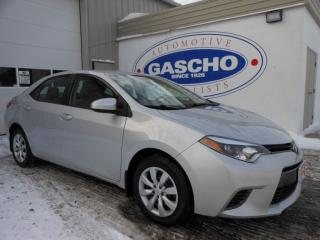 Used 2015 Toyota Corolla LE|Backup Cam|Heated Seats|Bluetooth for sale in Kitchener, ON