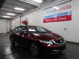 Used 2013 Honda Civic EX HEATED CLOTH SEATS POWER SUNROOF for sale in Halifax, NS