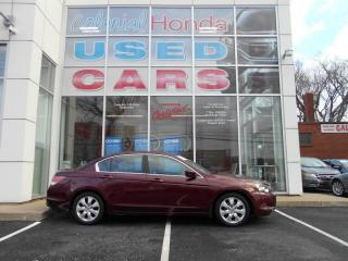 Used 2008 Honda Accord EX-L HEATED LEATHER FRONT BUCKET SEATS, POWER SUNROOF for sale in Halifax, NS