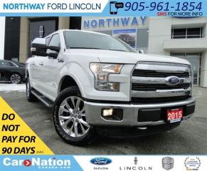 Used 2015 Ford F-150 Lariat | NAV | PANO ROOF | LEATHER | for sale in Brantford, ON