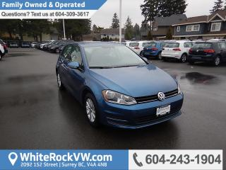 Used 2017 Volkswagen Golf 1.8 TSI Trendline Heated Front Seats, Remote Keyless Entry & Rear View Camera for sale in Surrey, BC