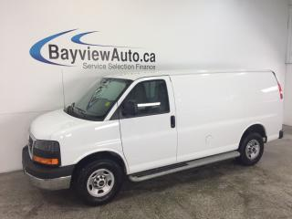 Used 2016 GMC Savana 2500 - 4.8L! A/C! CRUISE! LOW KM'S! CRUISE! for sale in Belleville, ON