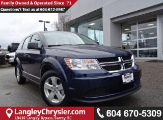 Used 2017 Dodge Journey CVP/SE <B>*BLUETOOTH*4.3 TOUCHSCREEN*LOCAL*<B> for sale in Surrey, BC