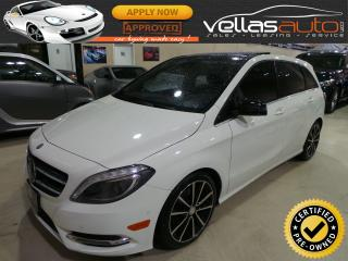 Used 2014 Mercedes-Benz B-Class SPORTS TOURER| NAVI| PANO RF| 18ALLYS for sale in Woodbridge, ON