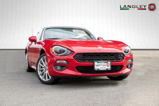Used 2018 Fiat 124 Spider Lusso Be Ready For Summer! Premium Leather Seats, Blind Spot Monitoring! for sale in Surrey, BC