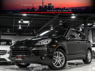 Used 2014 Porsche Cayenne SPORTS CHRONO|NAVI|PARKING SENSORS|LOADED for sale in North York, ON