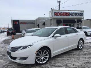 Used 2014 Lincoln MKZ 3.7 AWD - NAVI - LEATHER - SUNROOF for sale in Oakville, ON