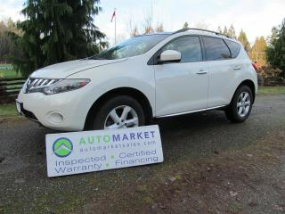 Used 2009 Nissan Murano SL, AWD, WARRANTY, INSPECTED for sale in Surrey, BC