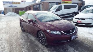 Used 2014 Honda Civic EX/ALLOY/BACKUP CAMERA/BLUETOOTH/IMMACULATE$9999 for sale in Brampton, ON