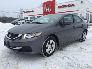 Used 2015 Honda Civic LX for sale in Smiths Falls, ON